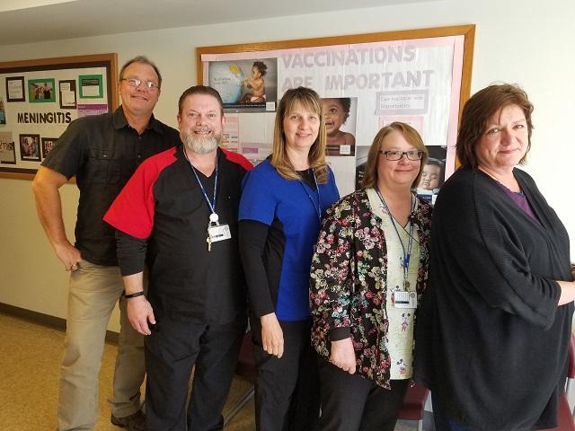 will county health department immunizations team