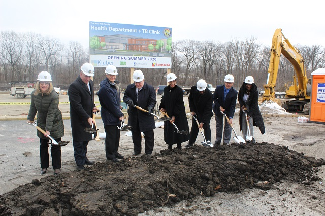 Will County Health Department Officially Breaks Ground on New Building