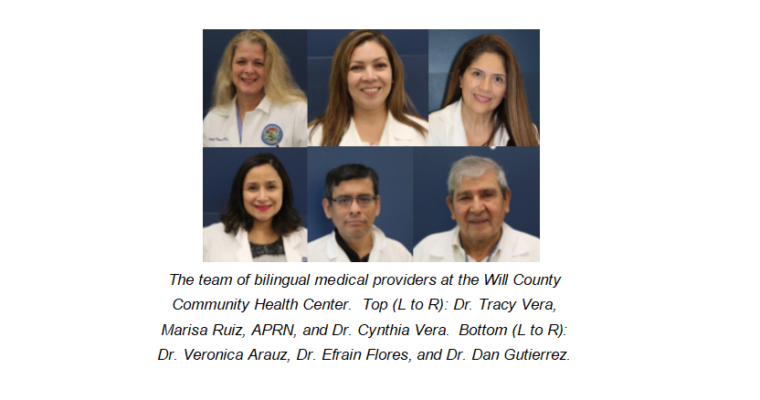 Will County Community Health Center Now Has Six Bilingual Spanish Speaking Doctors and Nurse Practitioners