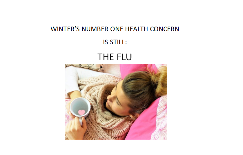 Health Department Says Despite Coronavirus, Top Priority this Winter Continues to be Avoiding the Flu