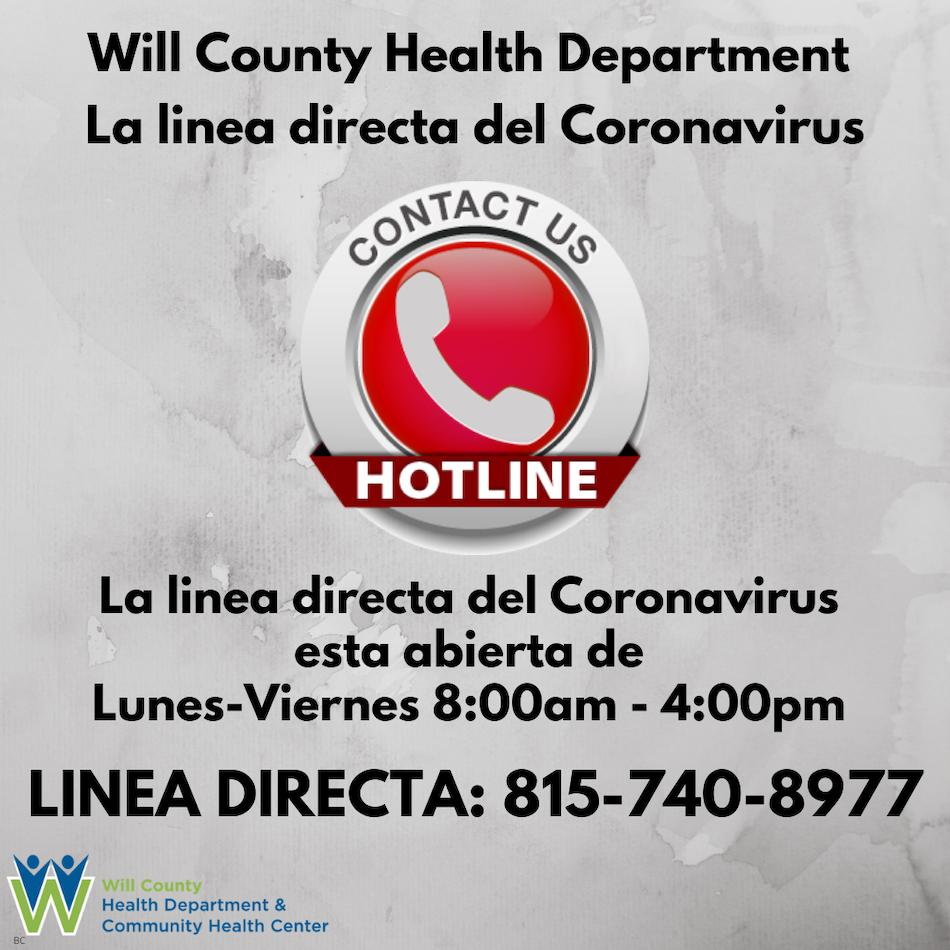 WCHD-COVID-19 Hotline Spanish