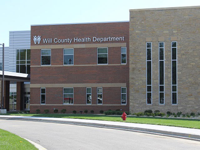 Will County Health Department front of building